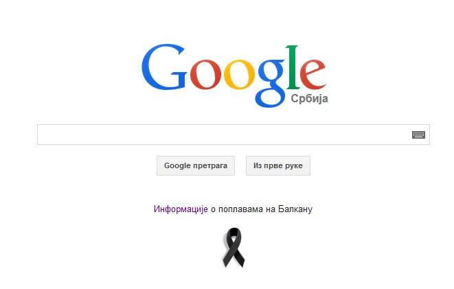 google.rs poplave 2014 crna traka