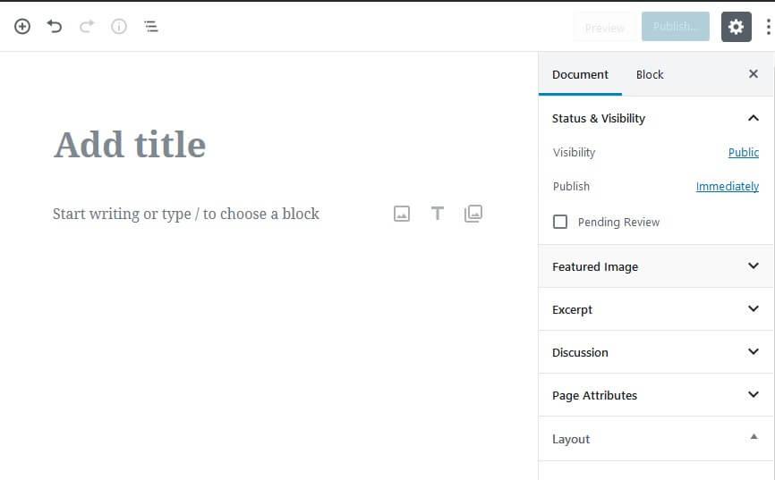 Kako vratiti stari wordpress editor umesto novog gutenberga