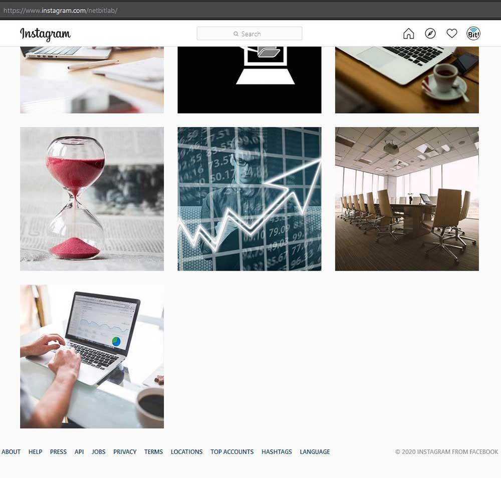 instagram profil na racunaru